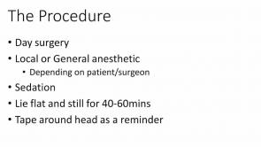Trabeculectomy Consent Part 1